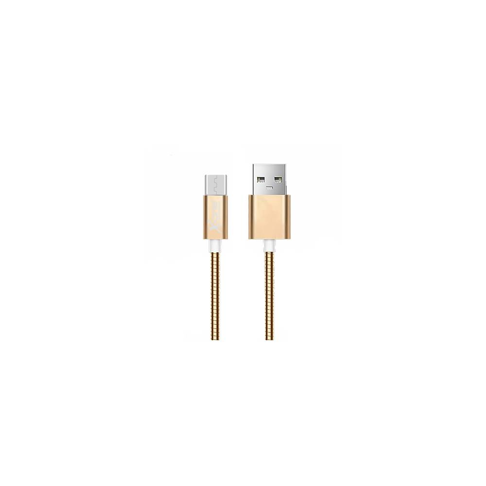 X One CMM1000G Cable USB metal Micro Oro Rosa