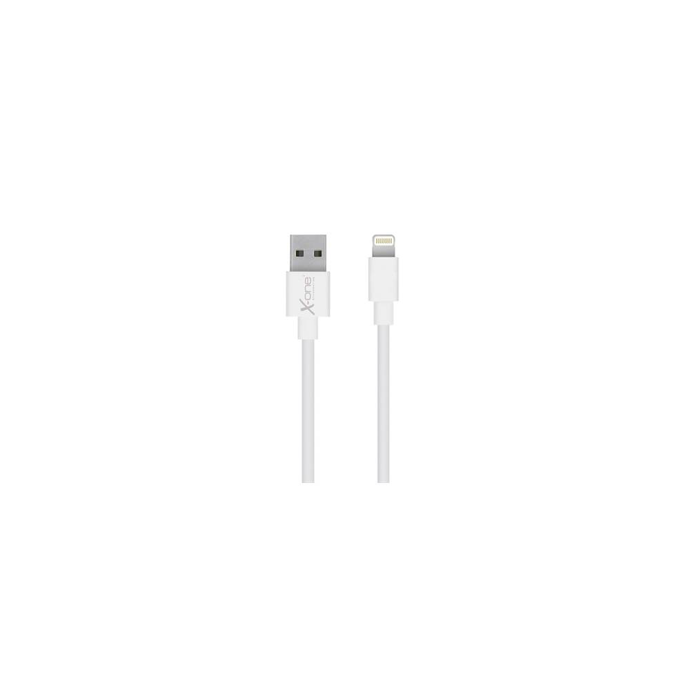 X One CPL1000W Cable Lightning plano Blanco