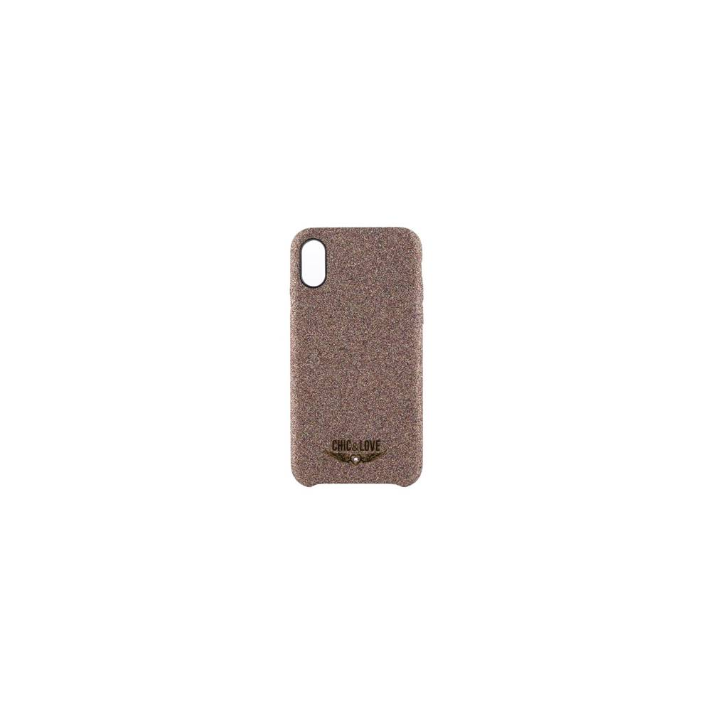 ChicLove Carcasa iPhone X XS Cobre Resplandecient