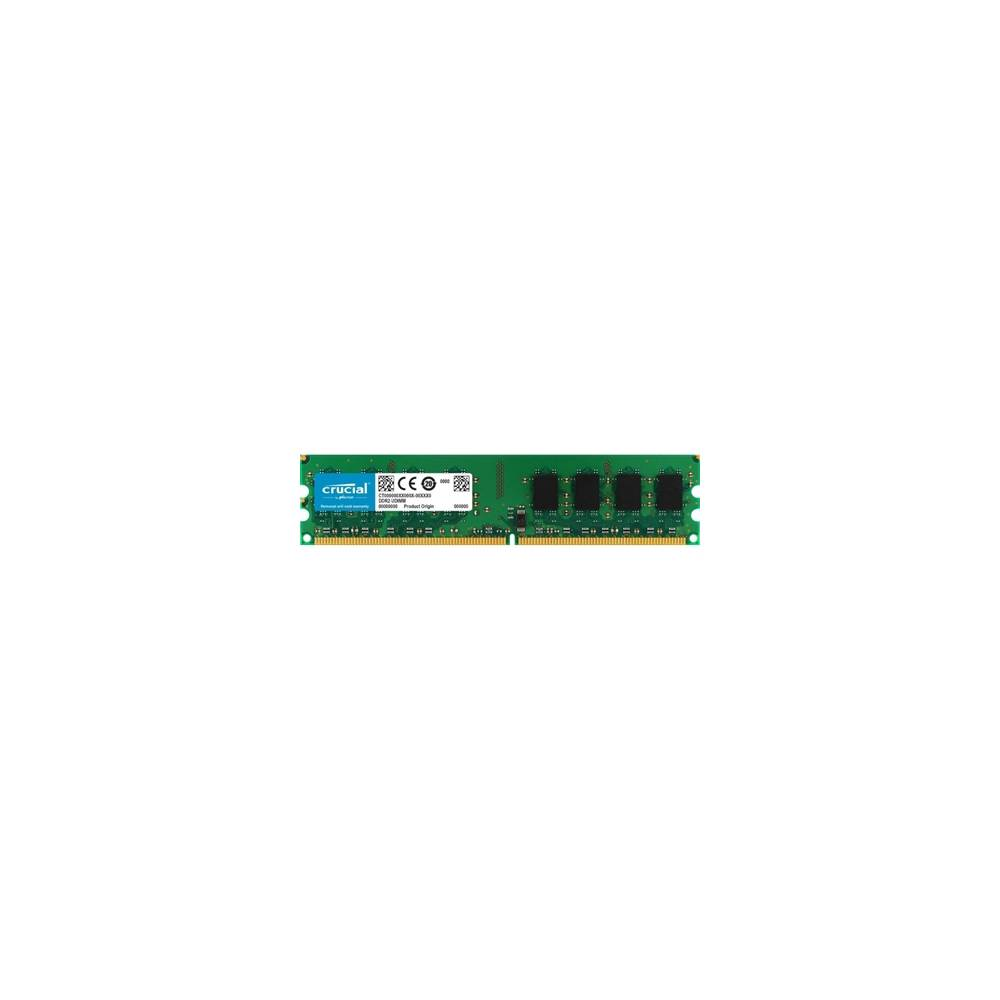 Crucial CT25664AA800 2GB DDR2 800MHz PC2 6400 CL6