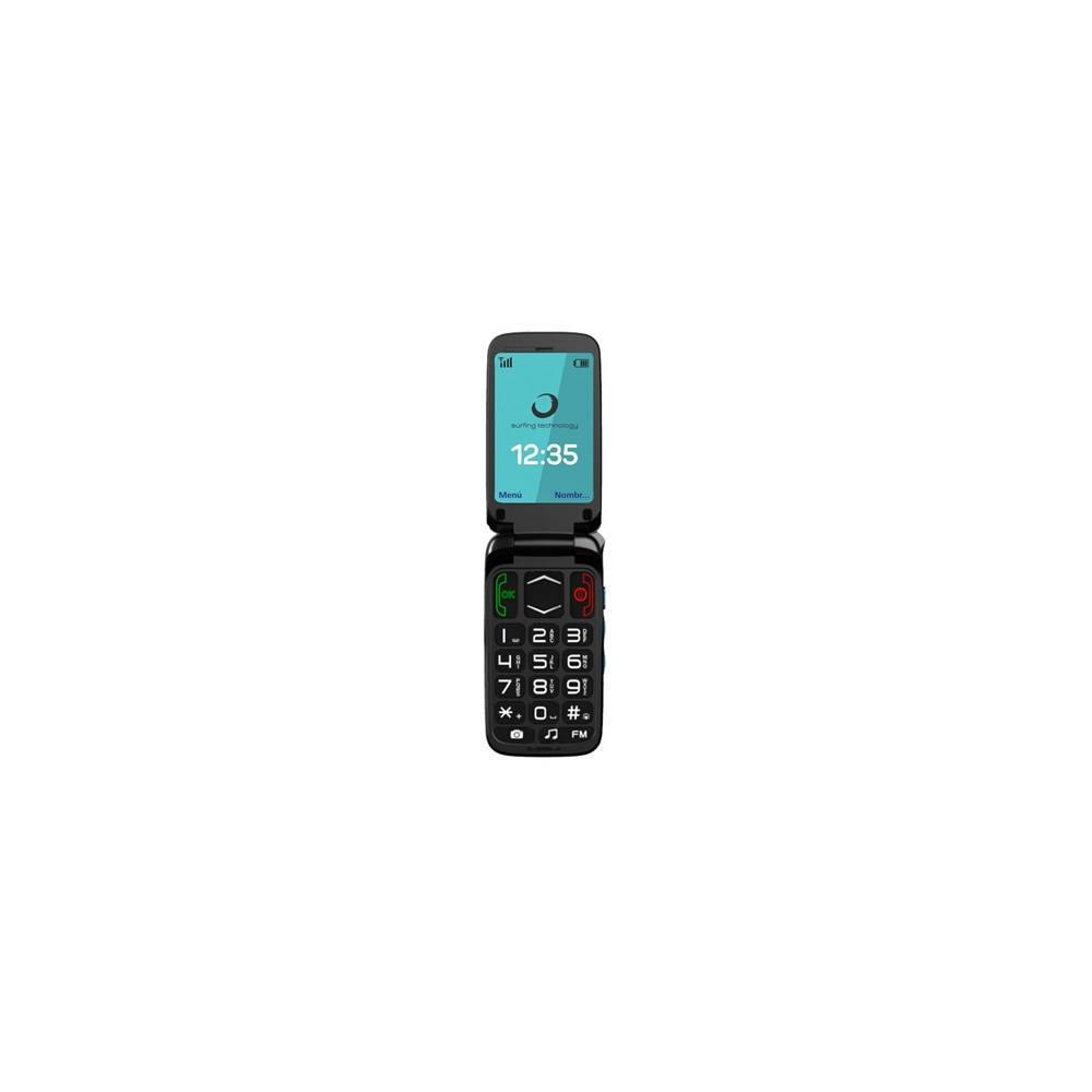 Brigmton BTM3 Telefono Movil 24 SOS 3Mpx BT Do