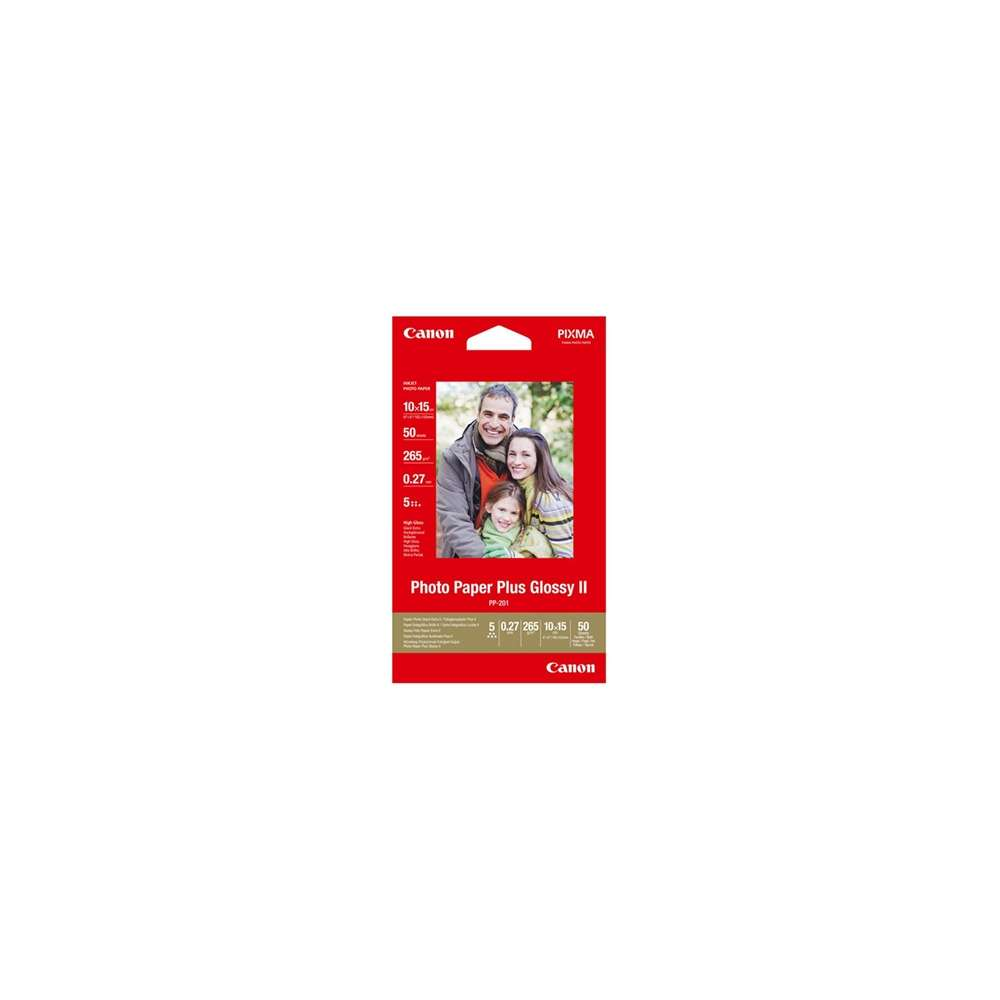 Canon Photo Paper Plus Glossy II PP 201 50 hojas